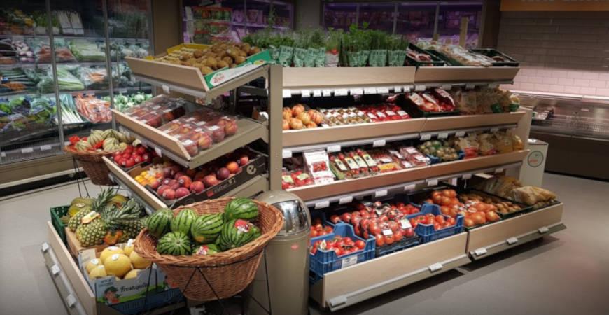 rayon supermarché